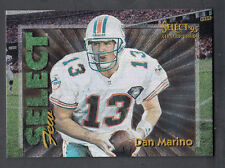 Dan Marino 1995 Select Certified Select Few 2250 card #1 Dolphins