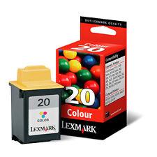Genuine Lexmark 20 15M0120 Color Ink Cartridge 3100 Jetprinter X125 X4250 X4270