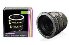 Vivitar Macro Extension Tube Set for Nikon D3200 D5100 D5200 D7100 D800 D600