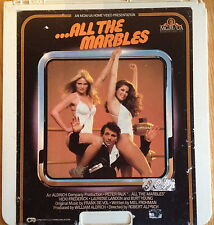 All The Marbles RCA Selectavision Video Disc CED VideoDisc