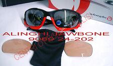 Occhiali Oakley Jawbone Alinghi 9089 24-202 Matte Black RED Black Iridium G30