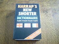 harrap's new shorter dictionnaire anglais-francais