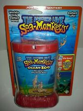 The Amazing Live Sea-Monkeys Marine Zoo Red Tank (Brand New)