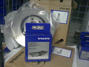 Genuine Volvo XC60 Front Brake Discs And Pads 328 mm