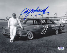 Cale Yarborough SIGNED 8x10 Photo NASCAR LEGEND PSA/DNA AUTOGRAPHED