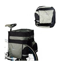 60L Bike Bicycle Cycling Rear Seat Tail Cargo Bag Pack Pannier With Rain Cover