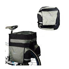 Water Resistant Triple Bicycle Pannier Rear Trunk Bag Rain Cover Seat Bag 60L