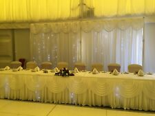Starlight Backdrop, Top Table And Cake Table - HIRE ONLY