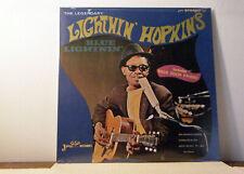 LIGHTNIN HOPKINS LP Blue Lightnin 1967 Jewel Reissue  new vinyl SEALED!