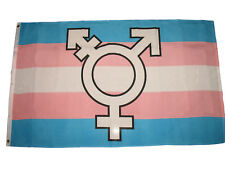 3x5 Gay Lesbian Transgender Symbol Human Rights Flag 3'x5' Banner Grommets