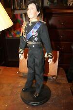 "Vintage The Danbury Mint Prince Charles Groom Doll Royal Wedding 21"""