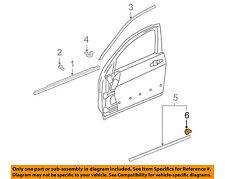 HONDA OEM 03-07 Accord FRONT DOOR-Body Side Molding Clip 75306SDAA01