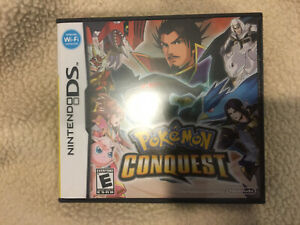 Brand New Factory Sealed Pokemon Conquest (Nintendo DS) Authentic US NTSC