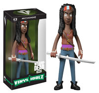 "THE WALKING DEAD MICHONNE 8"" VINYL IDOLZ FIGURE VINYL SUGAR BRAND NEW"