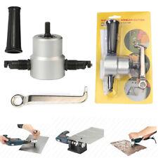 Double Head Sheet Metal Nibbler Cutter Holder Tool Power Drill AttachmentKit