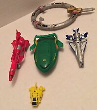 Bandai Thunderbirds Rescue Ships/Vehicles-Rare & Vintage Imported Lot-USA SELLER