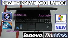 "♫ NEW Ready 2 use Lenovo x201 Thinkpad STUDENT netbook 12.1"" i5 2.4GHz WINDOWS 7"