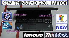 """✮NEW Ready 2 use✮ Lenovo x201 THINKPAD NETBOOK laptop 12.1"""" core i5 2.4GHz WIN 7"""