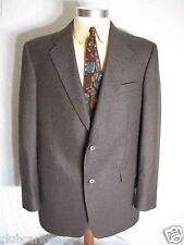 Brand New NWoT Men Famous Brand 100% Worsted Wool Coat/Jacket Brown Size 41L