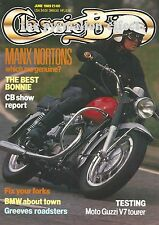 BMW R60/2 DCX Greeves Essex Greeves 25DB Bonneville Featherbed Manx Norton V7