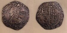 King charles i silver hammered shilling coin metal detector find 1st