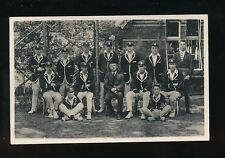 Somerset WELLINGTON School? Cricket team WSS c1900/30s? RP PPC French & Son