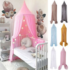 JN_ Kids Baby Bed Canopy Bedcover Mosquito Netting Princess Dome Tent Bedding
