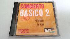"""CD """"CONCIERTO BASICO 2"""" CD 7 TRACKS DUNCAN DHU LOS REBELDES LOS SECRETOS"""