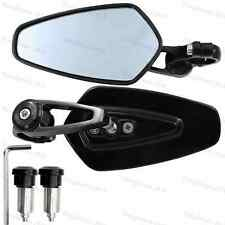 Motorcycle/Electric bike/ATV Modified Bar End Rearview Mirrors-1 Pair Black