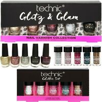 Technic Nail Varnish Glitter Set Cosmetics Christmas Gift Kit Teenage Girl Party
