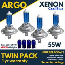 4 X H7 55w Super Cool Blue Xenon Upgrade Headlight Bulbs Set 499 12v Full/dipped