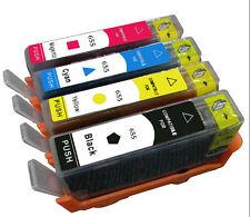 New 4x Ink Cartridges Compatible For HP655 HP Deskjet Advantage 3525 4615 4625