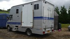 Diesel Horse Trailers & Horseboxes with Luton