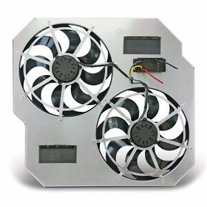 FITS 03-09 ONLY DODGE RAM DIESEL FLEX-ALITE  DUAL ELECTRIC COOLING FANS..