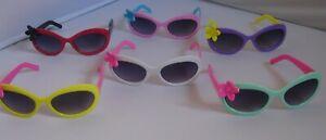 Girls 2 Tone Sunglasses with Flower Childrens Shades Girls