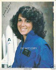 "Judith Resnik Reprint Signed 8x10"" Photo RP NASA Astronaut on Challenger Shuttle"