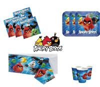 Angry Birds Kids Birthday Party Items Tableware Decorations