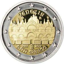 Italy 2 euro 2017 Venice San Marco Basilica Bimetal Italia UNC