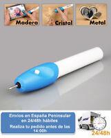 Grabador decoracion manualidades electrico cuero metal madera (Envio express)