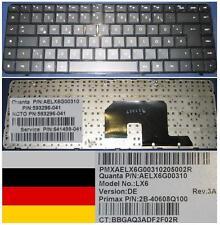 Keyboard Qwertz German HP DV6-3000 LX6, AELX6G00310 593296-041 641499-041 Black