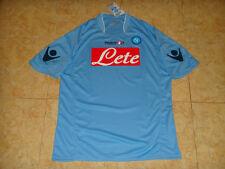 SSC Napoli Calcio Maglia Italia Macron Naples Football Shirt NUOVO