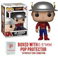 "Funko Pop The Flash TV: Jay Garrick #716 Vinyl w/ 0.5mm Case ""MINT"
