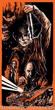1981 HALLOWEEN II John Carpenter LTD ED Screen Print SLASHER Movie Poster Print!