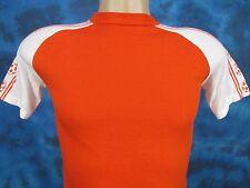 Nos vintage 70s Blank Soccer Ball Raglan Jersey T-Shirt Xxs futbol soft thin 80s