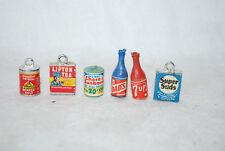 Dollhouse MINIATURE  Size  Vintage Lipton Tea Box AND OTHERS