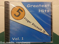 FAST FREE SHIP New Sealed: 5 Finger Discount - Greatest Hits Vol 1 (CD) RARE OOP