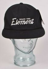 2017 NWT MENS ELEMENT THROWBACK HAT $26 O/S flint black adjustable