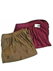 Old Navy Women's Super Soft Jersey Skirt Size XL 1-NWT & 1-NWOT-Set of 2