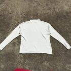 "KATIES ""Cream"" Women's Long Sleeve Warm Stretch Knit Top (Size 12)"