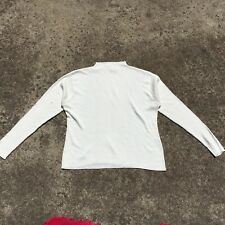 "KATIES ""Cream"" Women's Long Sleeve Warm Stretch Knit Top (Size 12)"